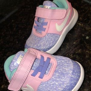 Toddler Girl NIKE flex contact